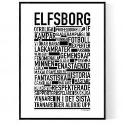 Elfsborg Fotboll Poster