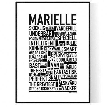 Marielle Poster