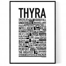 Thyra Poster