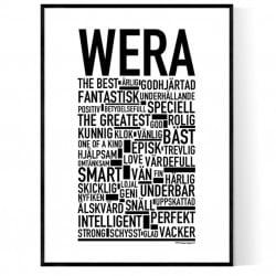 Wega Poster