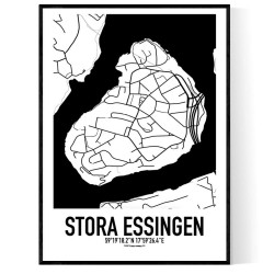 Stora Essingen Karta