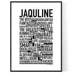 Jaquline Poster