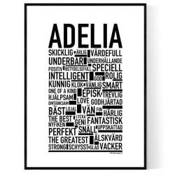 Adelia Poster
