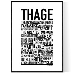 Thage Poster