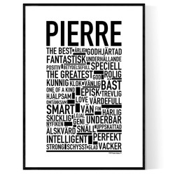 Pierre Poster