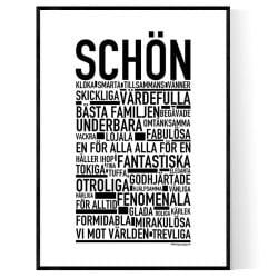 Schön Poster