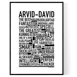 Arvid-David Poster
