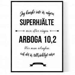 Arboga Superhjälte Poster