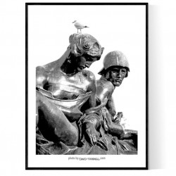 Buckingham Sculptures Poster