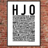 Hjo Poster