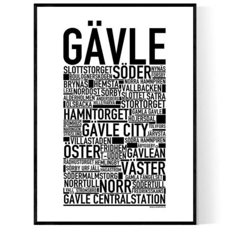 Gävle Poster