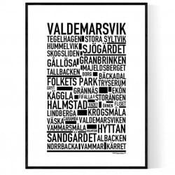 Valdemarsvik Poster