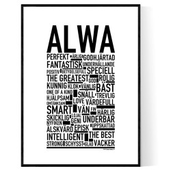 Alwa Poster