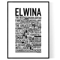 Elwina Poster