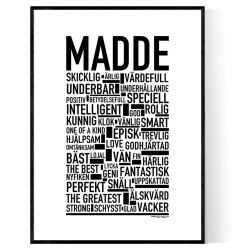Madde Poster