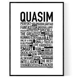 Quasim Poster