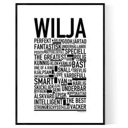 Wilja Poster