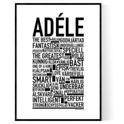 Adéle Poster