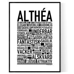 Althéa Poster