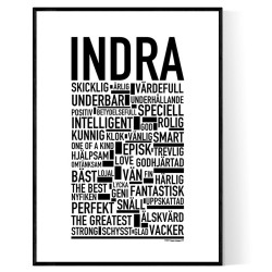Indra Poster