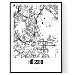 Högsbo Karta