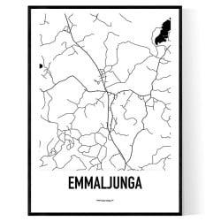 Emmaljunga Karta