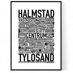 Halmstad Poster