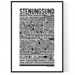 Stenungsund Poster