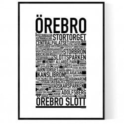 Örebro Poster