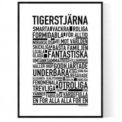 Tigerstjärna Poster