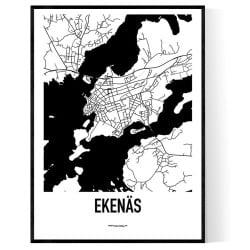 Ekenäs Karta