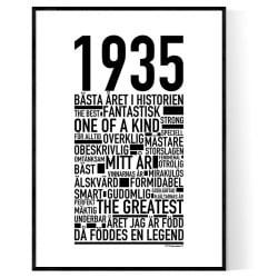 1935 Årtal