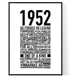 1952 Årtal