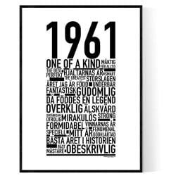 1961 Årtal
