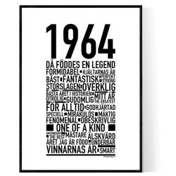 1964 Årtal