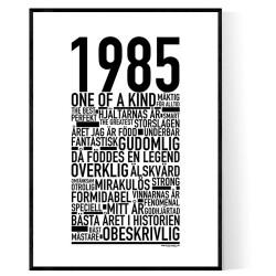 1985 Årtal
