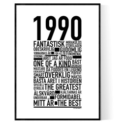 1990 Årtal