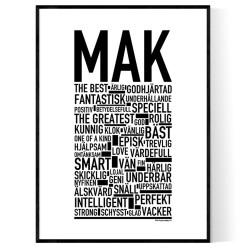 Mak Poster