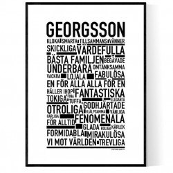Georgsson Poster