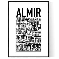 Almir Poster