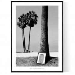 Venice Beach Print Poster