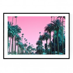 Beverly Hills Colors Poster
