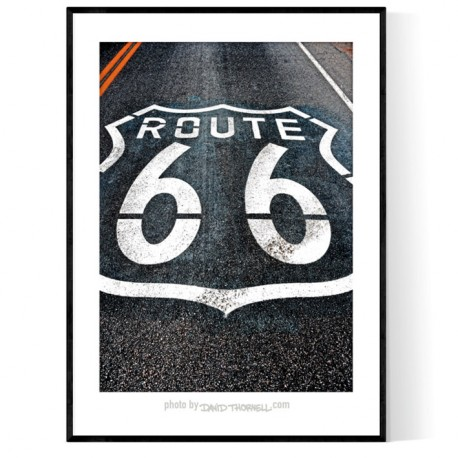 Amboy Route 66 Poster