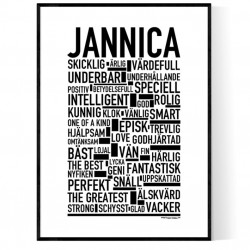 Jannica Poster