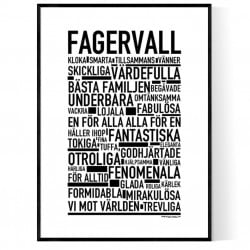 Fagervall Poster