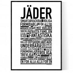 Jäder Poster