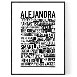 Alejandra Poster