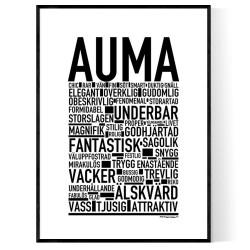 Auma Poster