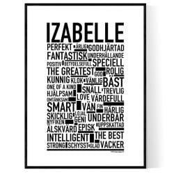 Izabelle Poster