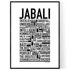 Jabali Poster